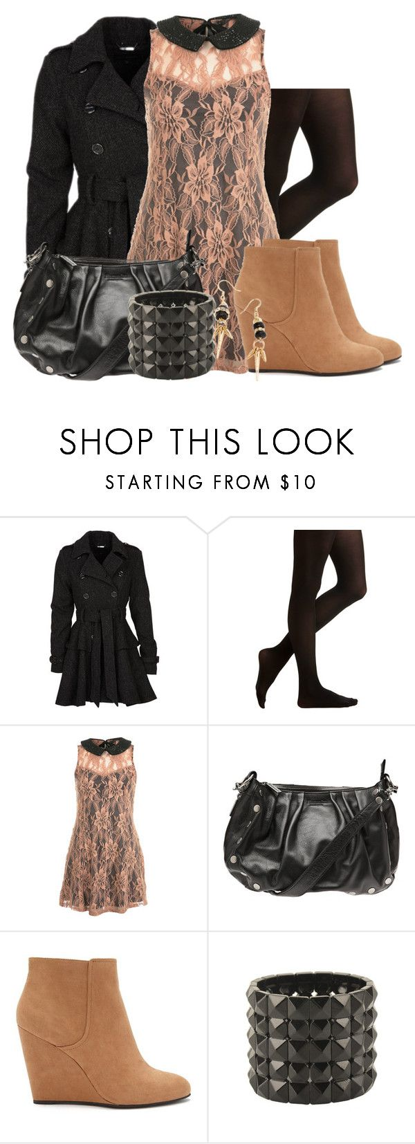 """""""Glee: Piper Mercer"""" by grandmasfood ❤ liked on Polyvore featuring Steve Madden, Moon Collection, Miss Selfridge, Hammitt, Forever 21 and Tilly Doro"""