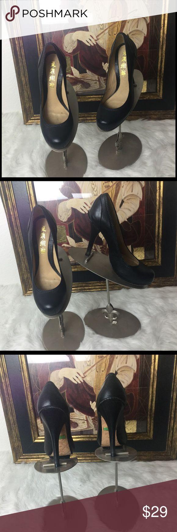 "Lamb High Heel Designer Shoes.  Sz 6 Lamb by Gwen Stefani High Heel Designer Shoes.  Sz 6. Heel height 5"". They are in good shape. Lamb Shoes Heels"