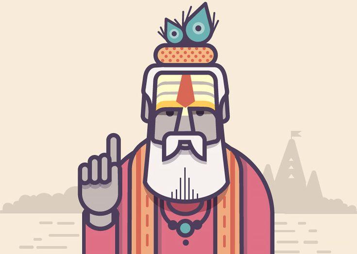 Great series of illustrations by Bangalore-based artist Ranganath Krishnamani.  More illustrations via Dribbble