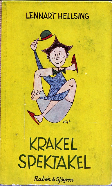 Swedish children's book by Lennart Hellsing, illustrations by Stig Lindberg.