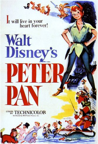 Peter Pan Poster - bij AllPosters.be