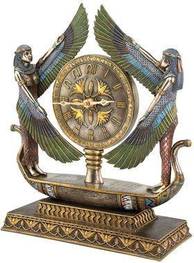 Alas de Isis de Egipto 1920 escultural Reloj