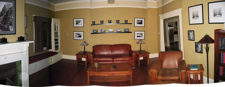Adrian monk 39 s living room bm blair gold tv set design - Rooms to go living room set with tv ...