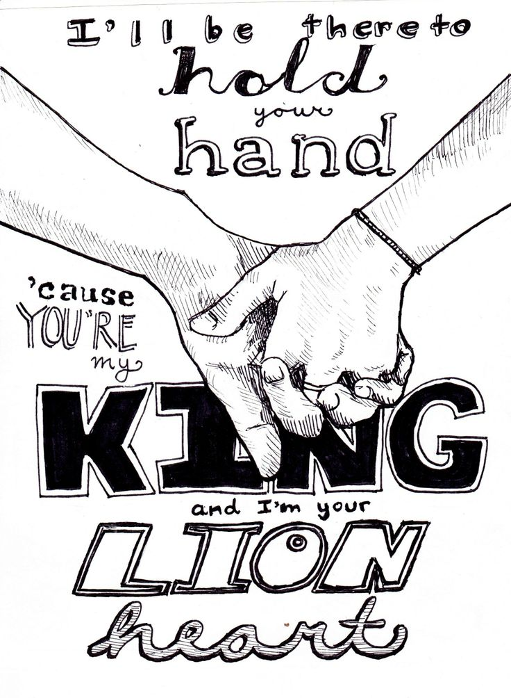 King and Lionheart Of Monsters and Men Lyrics Art (c) Emma Kuper