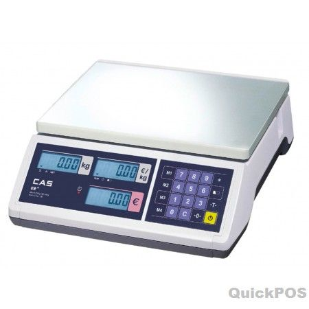 CAS SW-1 Scoop Platter The CAS SW-1 is low cost simple weighing scale. Battery operated with auto power off function or via optional adaptor on mains power-POS equipment and POS hardware