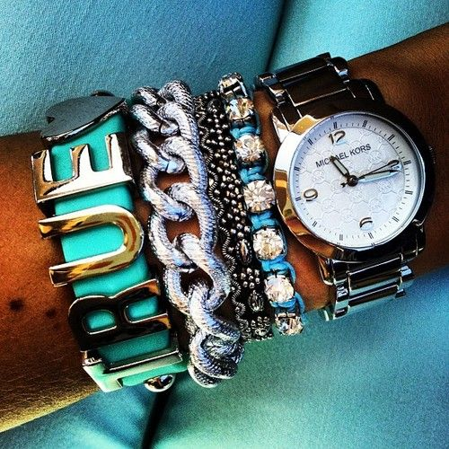 Love!!: Arm Candy, Style, Accessor, True Love, Jewelry, Michael Kors Watches, Arm Bling, Arm Parties, Affirmations Bracelets