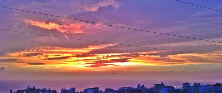 #sunset  #kusadasi  #turkey