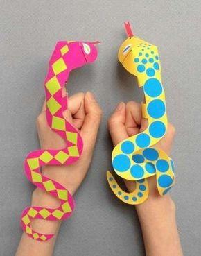Manualidades para niños: ideas fáciles con papel - Manualidades infantiles títeres de papel