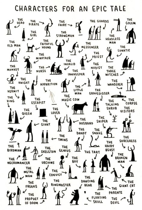 Characters for an epic tale. Quite a comprehensive collection. from Cabanon Press - Not so much for the toddler, but as he gets older - heck yes!