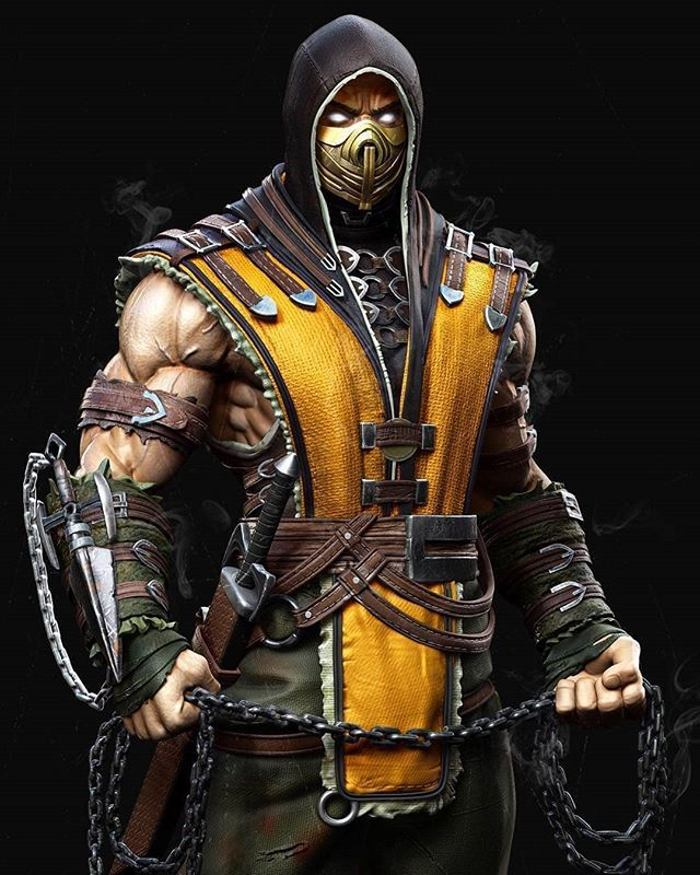 Scorpion Personajes De Mortal Kombat Mortal Kombat X Fondos De