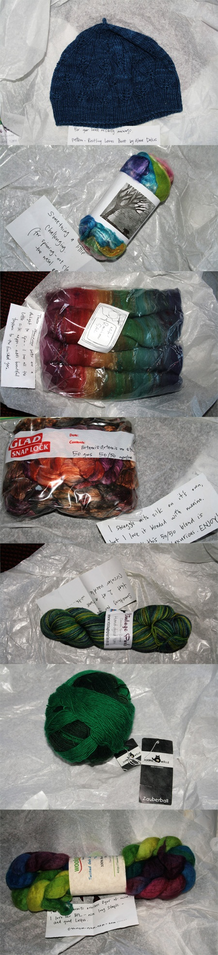 Items from my parcel (there was also a chocolate bar and some Tangy Fruit jubes...:)