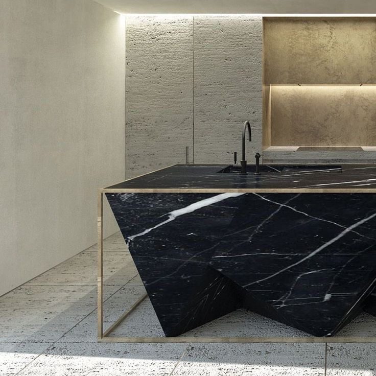 "2,537 kedvelés, 26 hozzászólás – lucdesign and @lucdesign_style (@lucdesign) Instagram-hozzászólása: ""Nero Marquina kitchen bench Designed by Dieter Vander Velpen Architects @vandervelpen @il_granito…"""