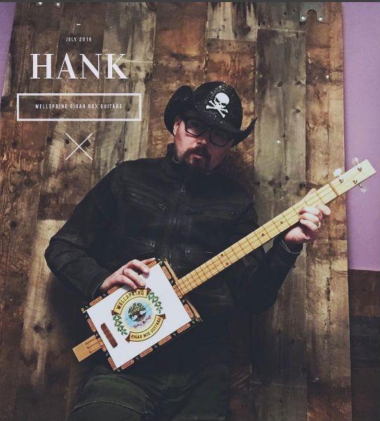 Hank Angel - A Guitar And A Broken Heart