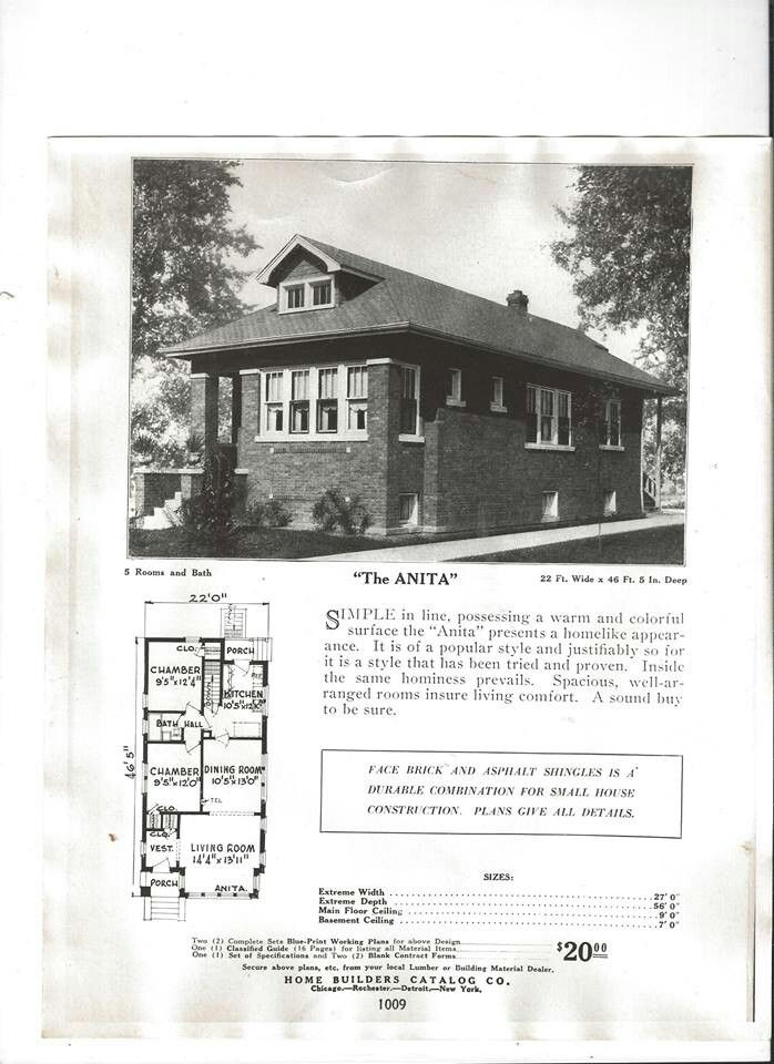 chicago bungalow house plans On chicago style bungalow floor plans