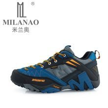 US $40.73 MILANAO Waterproof Hiking Shoes Men Sneakers 2015 Leather Outdoor Mens Sport Trekking Walking Shoes Sapatos Tenis zapatos hombre. Aliexpress product