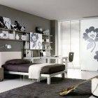 Grey Teen Room Design