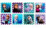Alfombra puzzle Frozen: el Reino del Hielo. Goma EVA