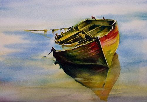Aquarelles marines - Page 2 - Aquarelle Marichalar Watercolor