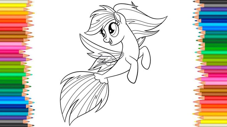 rainbow dash  my little pony the movie coloring pages