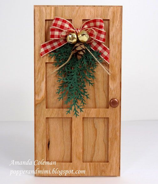 165 best images about window cards door cards on pinterest for Wood veneer craft projects