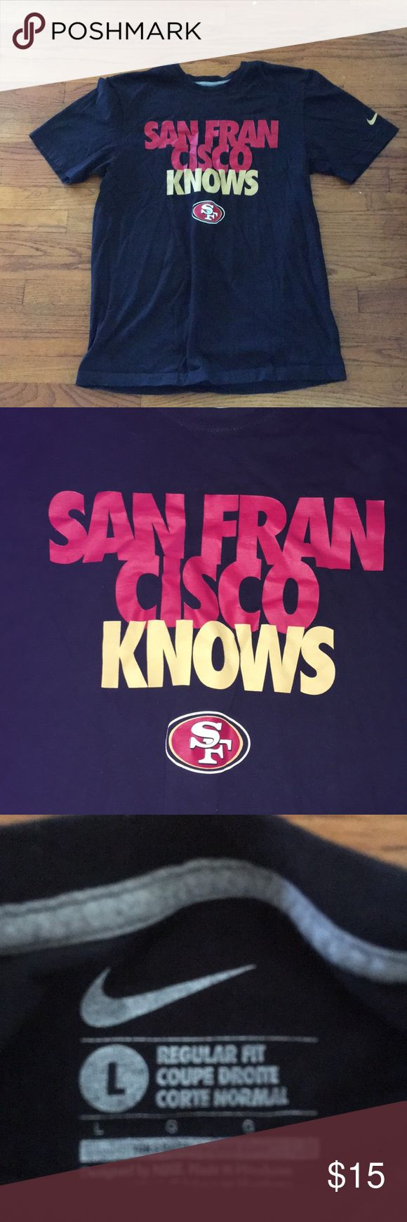 Nike NFL SF 49ers T-shirt Awesome condition  Washed and worn once Nike Shirts
