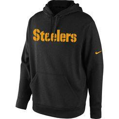 Pittsburgh Steelers Nike KO Wordmark Performance Hoodie – Black