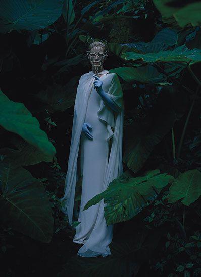 Tilda Swinton, Stranger than Paradise by Tim Walker for W Magazine