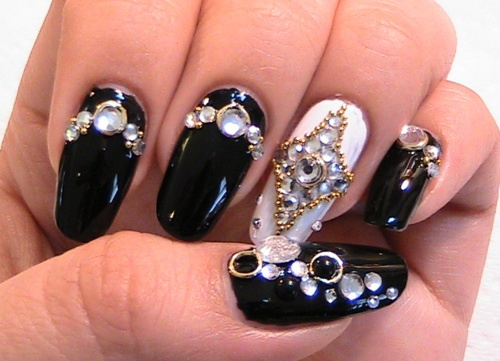 Glam Japanese Nail Design Simple Japanese Nail Art