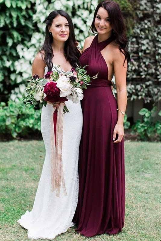 97bb24116005 Burgundy 2018 Short Cute Simple Spaghetti Straps Homecoming Dress OK201 in  2019 | Places to visit | Wedding, Bridesmaid, Bridesmaid dresses