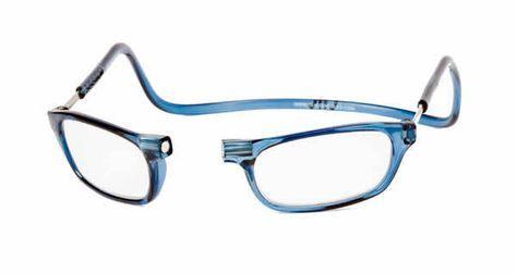 fc03f36d45b Denim Blue Clic Magnetic Reading Glasses