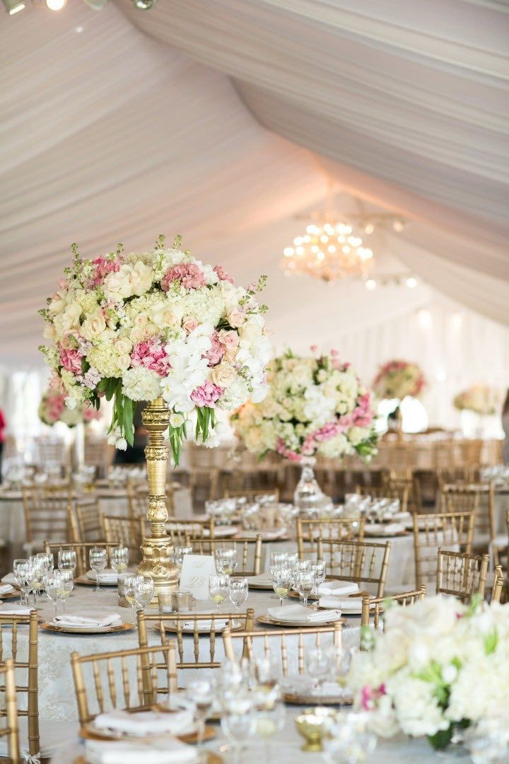 264 best wedding centrepieces images on pinterest for Wedding reception centrepieces