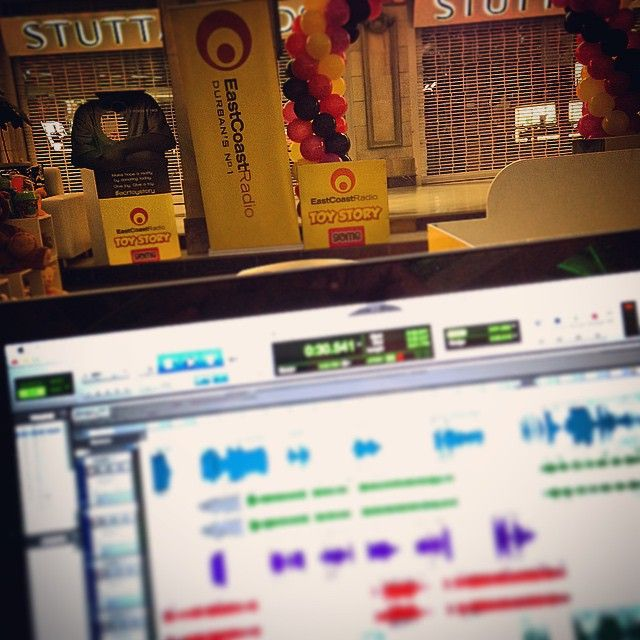 All set for tomorrow's East Coast Radio Toy Story Corporate Challenge | #ECRToyStory #Love #Radio