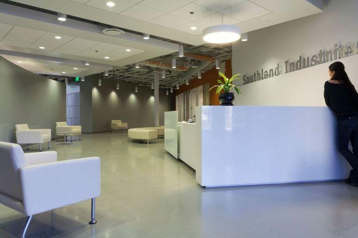 25 best ideas about office entrance on pinterest office reception office reception design for Southland industries garden grove