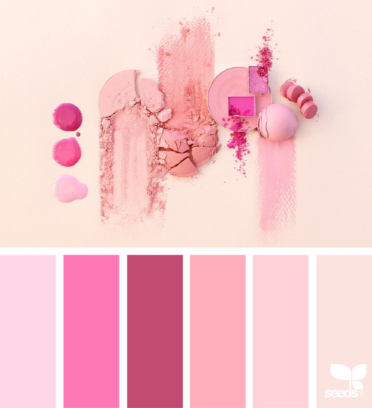 Cosmetic Color via @designseeds