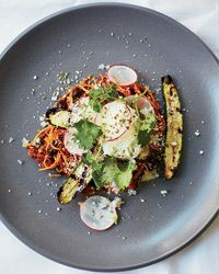 Mexican-Style Fideos with Chorizo Recipe on Food & Wine