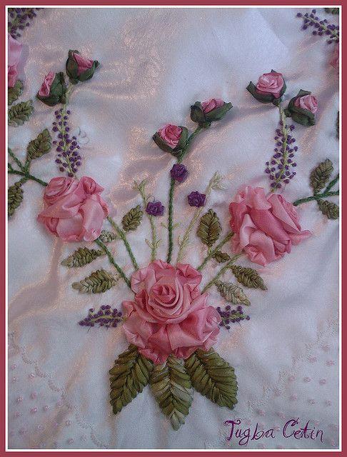 Silk Ribbon Embroidery | Silk Ribbon Embroidery