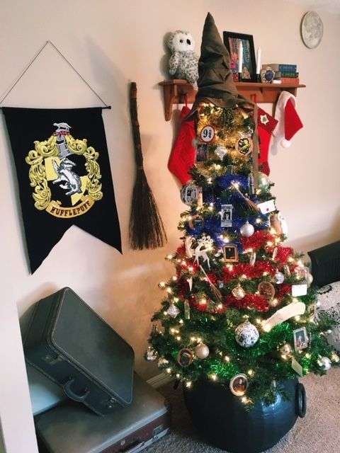 Potterheadcrafts Harry Potter Christmas Tree Overview Harry
