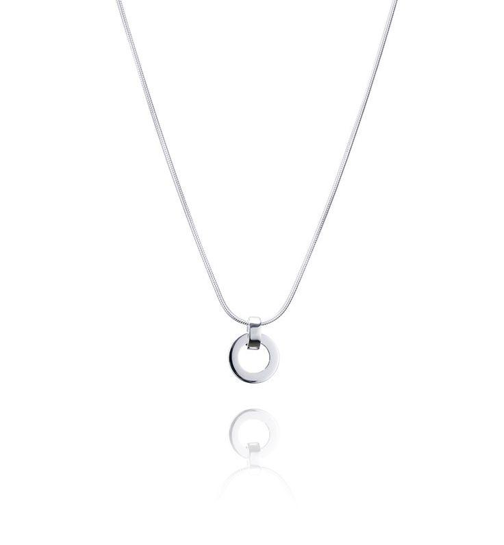 Ring Around Pendant - Silver - Hängen - Efva Attling