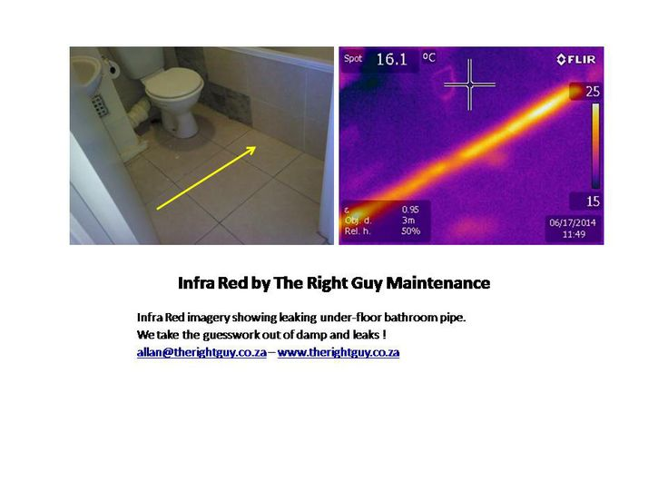 Our Infra Red assessments have helped yet another client that had an unsolved wet problem for more than 18 months.