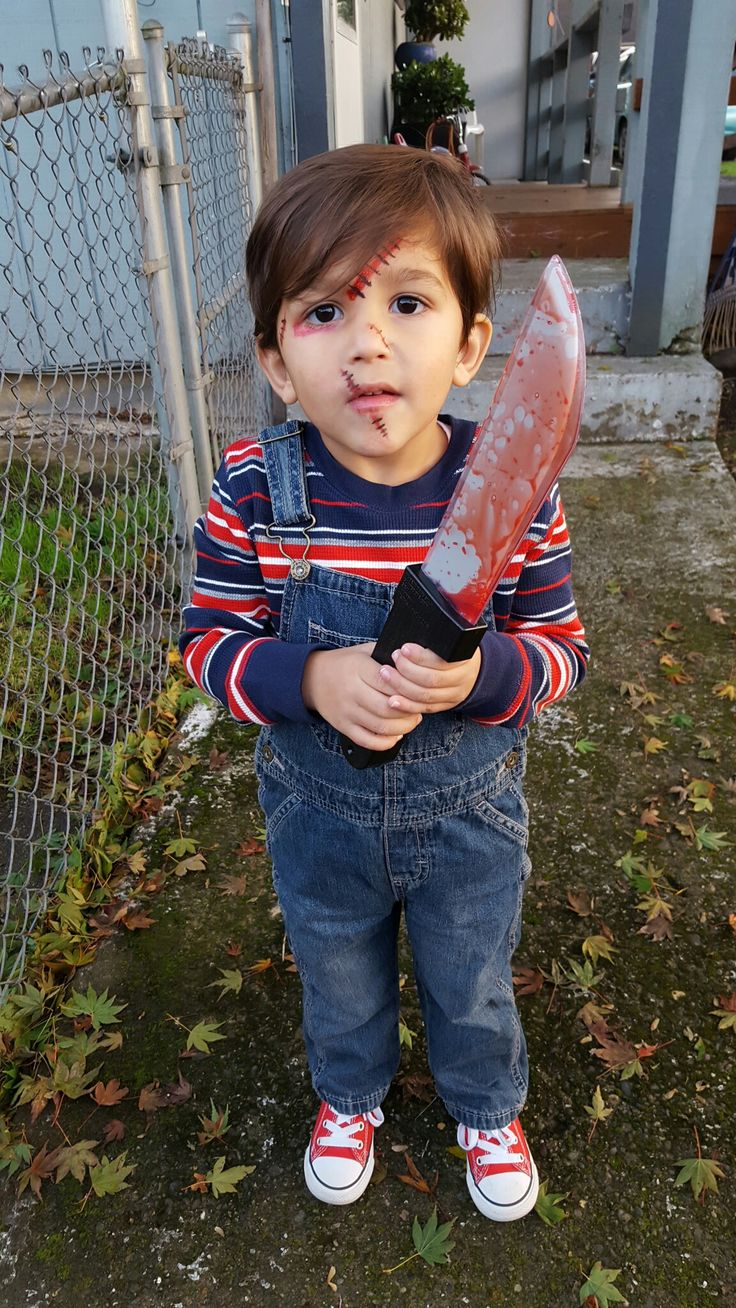 chucky costume for toddler - photo #13