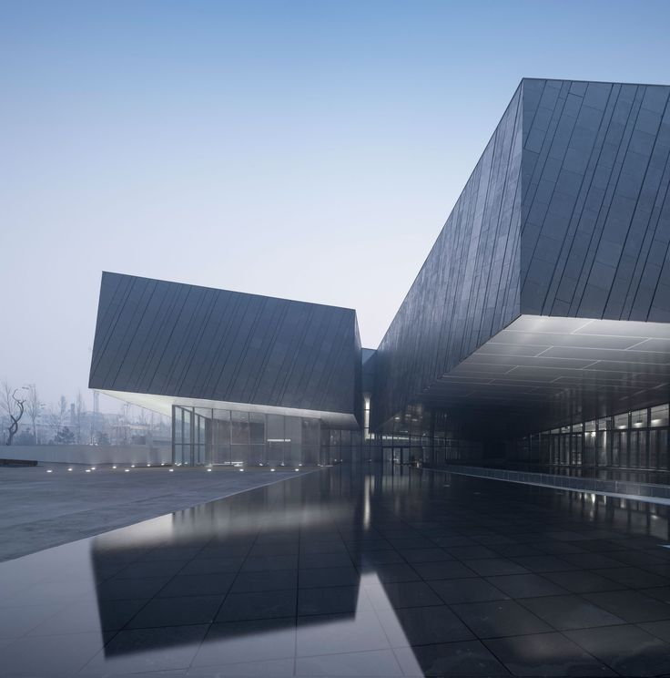 The Exhibition Hall of Crime Evidences in Harbin / Architectural Design & Research Institute of SCUT