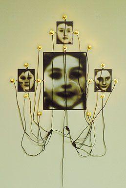 Cristian Boltanski Monument Odessa, 1991 Mixed media. Spencer Museum of Art, Univ. of Kansas