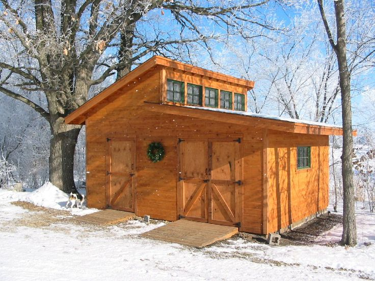 step by step guide on building this shed, chickens in one side, storage in the other?