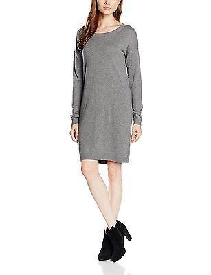 16, Grau (pewter grey melange 9730), s.Oliver Women's 14.609.82.5999 Dress NEW