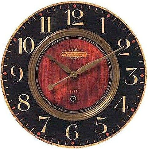 Favorite clock face. Change numbers to Roman style