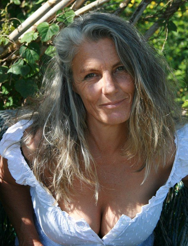 Mature Lady Rubbing Breasts 52