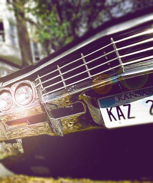 Impala <3 #Supernatural