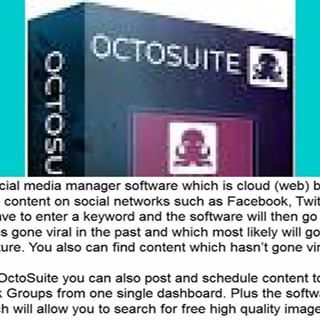 Mass Automate The Top Tasks Needed For Viral Traffic & Sales On Facebook In Under 60 Seconds  http://bit.ly/2u2JqV1 #socialmedia