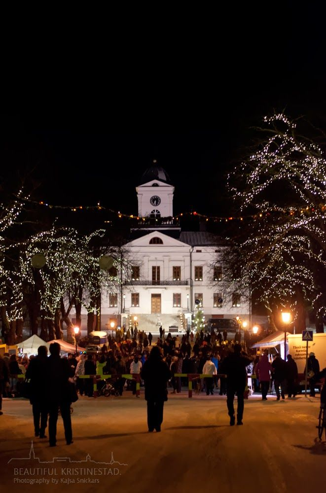 Opening of Christmas Season, Kristestad, Ostrobothnia province of Western Finland. - Pohjanmaa. 2013