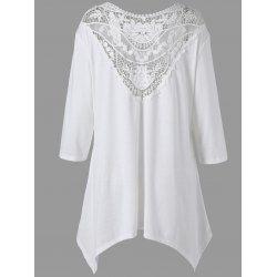$14.74--4X--Plus Size Tops For Women: Cute Plus Size Crop Tops & Lace Tops Fashion Sale Online | Twinkledeals.com Page 2